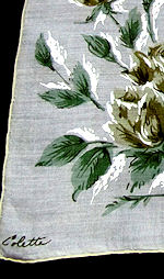 vintage Colette hanky flowers
