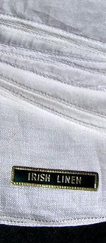 vintage irish linen hanky blanks