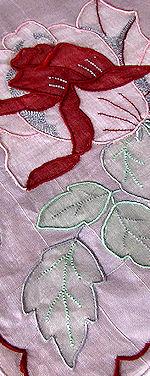 vintage hanky handmade marghab