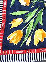 vintage Elle Paris hanky