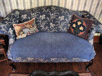 home decorationg pillows vintage handmade needlepoint