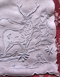 marghab stag placemat
