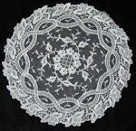 vintage antique Limerick lace doily