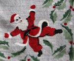 vintage collectible Christmas hanky
