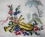 vintage collectible music hanky